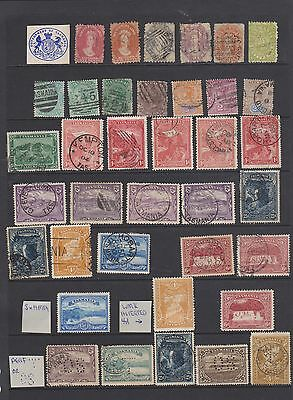 Levant, British Stamps Overprinted Collection, Mint And Used,