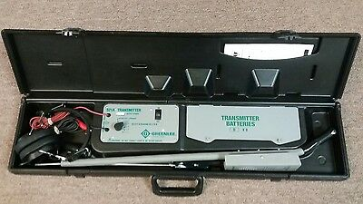 Greenlee Model 521A System Tracker II Cable Locating System Buried Line Locator