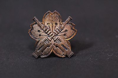 Imperial Japanese Army First Class Machine-gun Shooting Badge Medal Rare !! 398