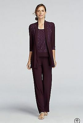 David' Bridal Mother of The Bride Pant Suit By RM Richards Size 14