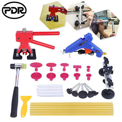 PDR Tools Paintless Hail repair Dent lifter Puller kits Glue Gun Sticks Removal