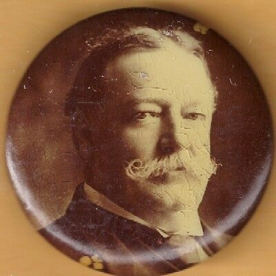 President William Howard Taft Campaign Button