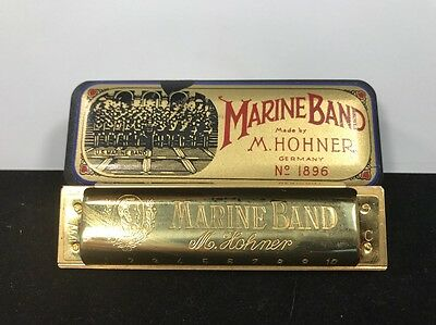 🎼🎼Hohner Marine Band Harmonica  No. 1896-1996 Limited Edition🎼🎼