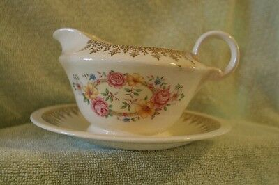 Vintage Edwin M. Knowles china creamer