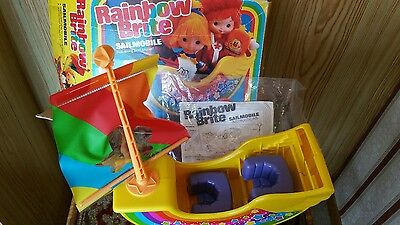 Rainbow Bright 80's toy Sail mobile