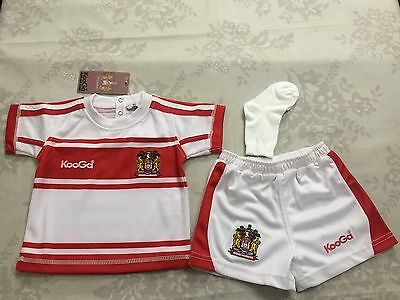 Wigan Warriors Home Kit 18 Month OId: New With Tags