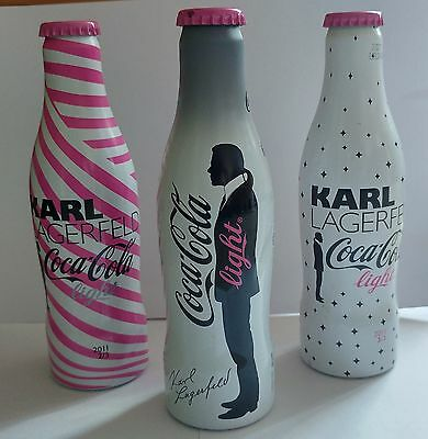 Lot bouteille Coca Cola pleine Karl Lagerfeld - Collector collection rare