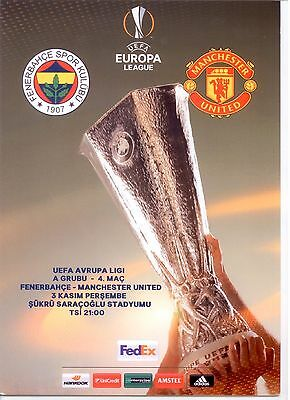 FENERBAHCE v MANCHESTER UNITED (PIRATE PROGRAMME) (EUROPA LEAGUE) 2016/17