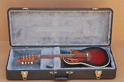 Ovation Celebrity Electric Mandolin MCS 148 With Hard Case Mint Condition