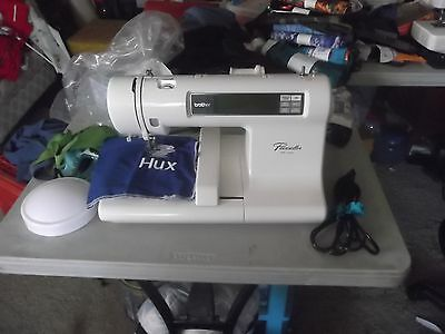 Brother PE-100 Computerized Sewing Machine Plus 5 Memory Cards