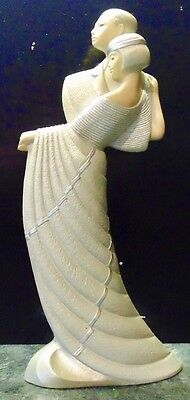 "Ivory Princess Ornament,""Dancing"""