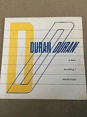 "Duran Duran - Is There Something I Should Know? - 7"" Vinyl Single"