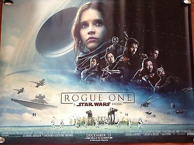 Star Wars Rogue One Quad Poster