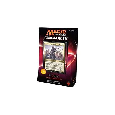 MAGIC THE GATHERING: Commander 2016 Deck - Open Hostility