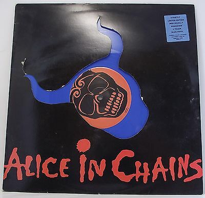 "ALICE IN CHAINS : THEM BONES : BLUE VINYL Single 12"" 45rpm Limited Numbered EX"