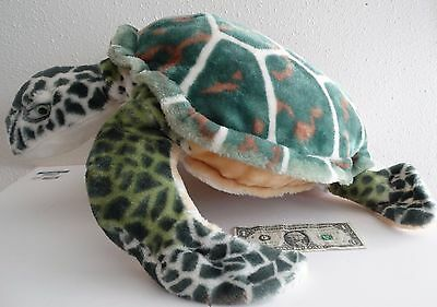 "Melissa and & Doug Plush Animal Stuffed SEA TURTLE, Dimensions: 28"" x 8"" x 28"""