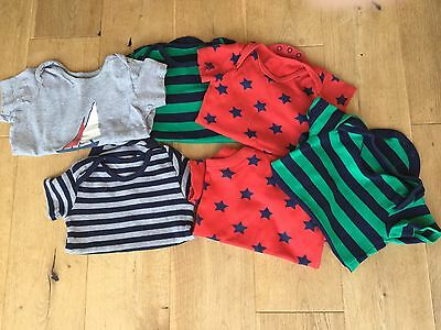Boys Mini Boden And TU T-shirt Bundle 12-18 months