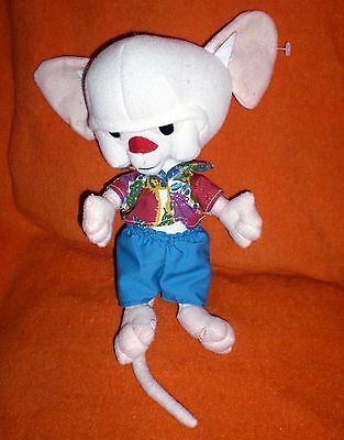 Looney Tunes 1997 PINKY And THE BRAIN Plush 1997 Warner Brothers Animaniacs