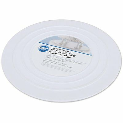 Wilton Separator Plate - Smooth - 12""