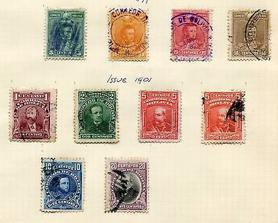 BOLIVIA -  Small collection classics, cancelled/MH