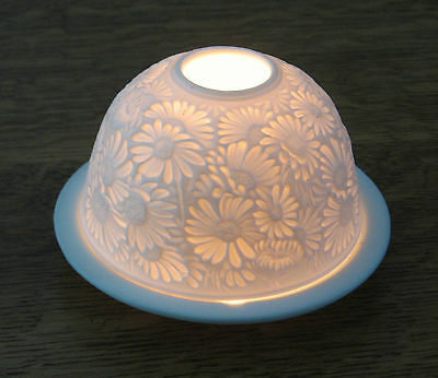 Porcelain T-Light Candle Holder-Brand New And Just Beautiful!