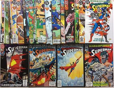 Superman #75 to #113 complete run (DC 1993) 39 x issues