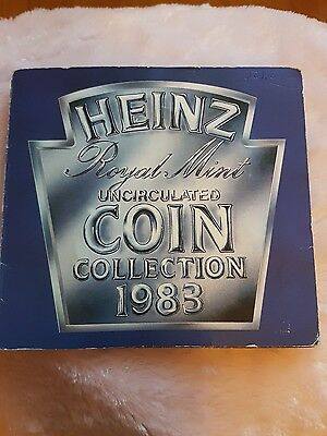 Heinz 1983 Royal Mint Uncirculated Coin Collection
