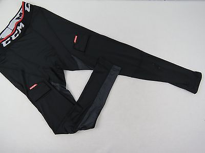 New CCM EX Dry Team Issued NHL Pro Stock Hockey Player Compression Pants L Gitch