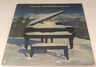 SUPERTRAMP Even In The Quietest Moments...   Vinyl Album LP 1977 VG