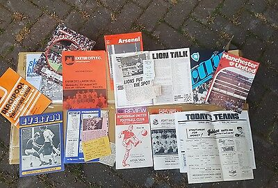 Aston Villa Football Programmes