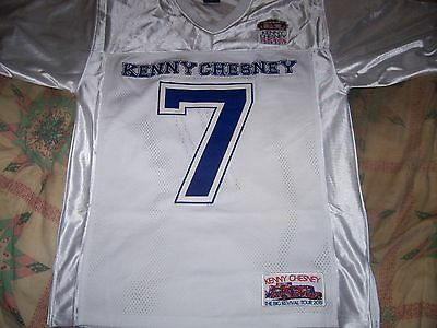 Rare Kenny Chesney 2015 The Big Revival Tour  Sewn Football Jersey Shirt $100.00