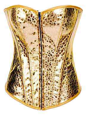 Stunning Lace up Gold Corset and Thong BNWT fits 8 and 10