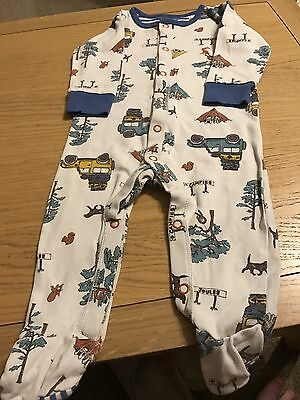 Baby Boys Joules Sleepsuits 6-9 Months