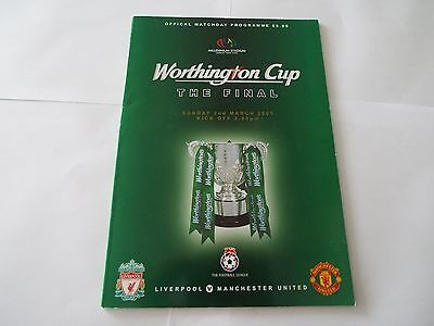 LIVERPOOL v MANCHESTER UTD (League Cup Final) 2003