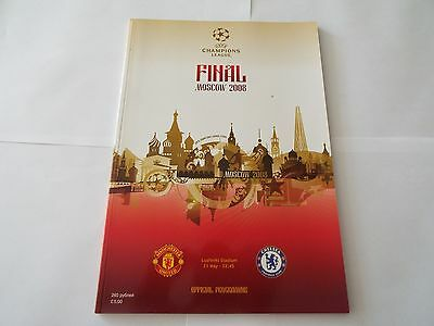 MANCHESTER UTD v CHELSEA (Champions League Final) 2008