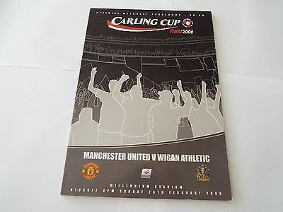 MANCHESTER UTD v WIGAN ATHLETIC (League Cup Final) 2006