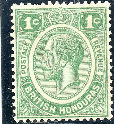 British Honduras 1929 1c green  SG 126 fine mint Cat £20