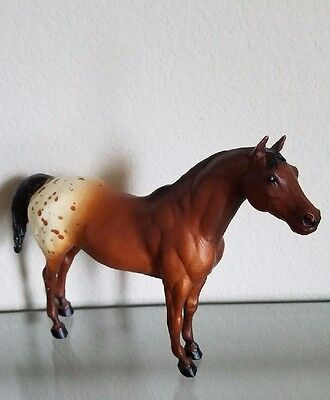 "Breyer Horse Pony of the Americas #154 VINTAGE 7-1/4"" High Bay Appaloosa 1979-19"