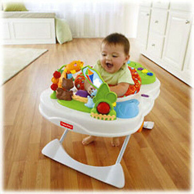 Fisher Price Snack Feeding Chair Portable Baby Seat Activity Center X7323