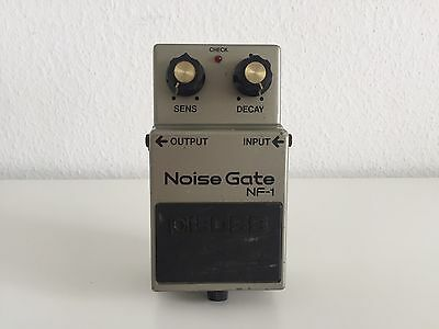 Effektgerätesammlung: BOSS NF-1 Noise Gate made in Japan Vintage Analog