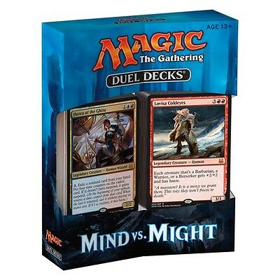 MTG Duel Decks: Mind vs. Might - Magic The Gathering, Brand New/Sealed/Unopened