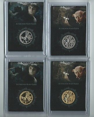Harry Potter Memorable Moments Box Topper SILVER coin CC2 Harry