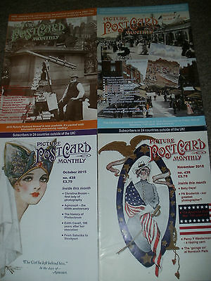 Picture Postcard Monthly 4 Issues 2015