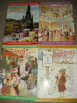 Picture Postcard Monthly 4 Issues 2013/2014