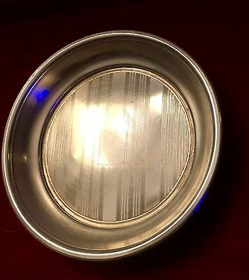 Sterling Silver Small Round Plate