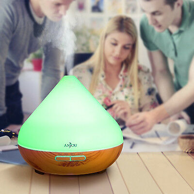 Essential Oil Diffuser Anjou 300ml Aromatherapy Diffusers Ultrasonic Aroma