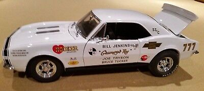 1967 Camaro Superstock BILL JENKINS Die Cast Car 1/18 LIMITED EDITION Mint w/COA