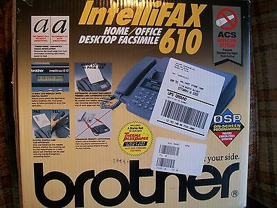 Brother Intellifax 610 Home/Office Desktop Fax Machine