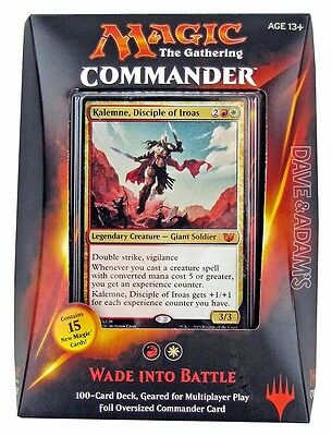 MAGIC THE GATHERING : Commander 2015 Deck - Wade Into Battle (White/Red)