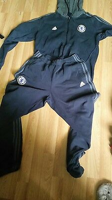 chelsea tracksuit by adidas